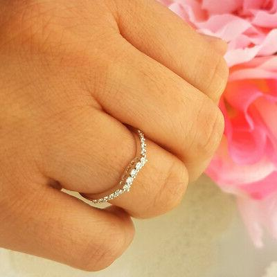 0.30 14K White Gold Anniversary Wedding Stackable