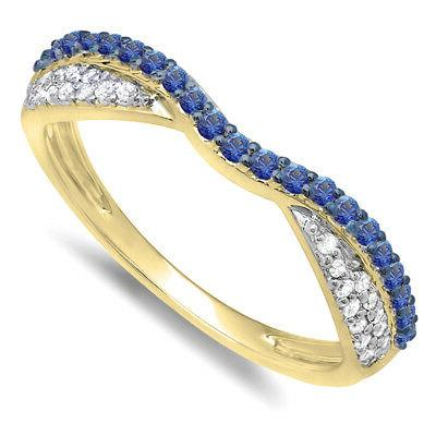 0 36 ct 14k yellow gold blue