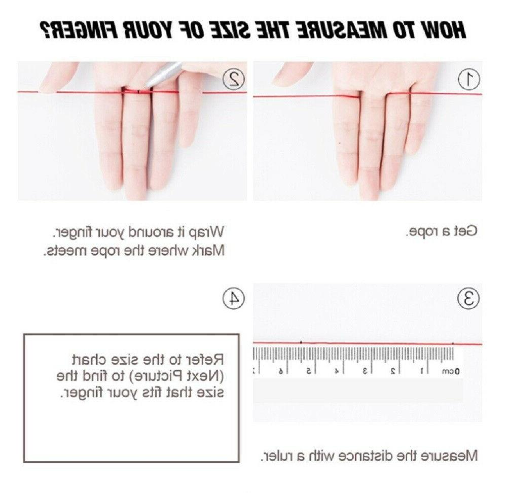 4 Pack Silicone Wedding Engagement Women Rubber Band US