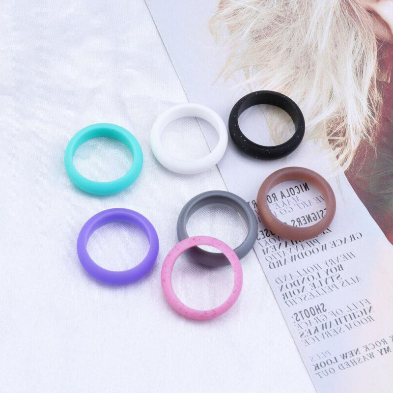 Flexible Bands Rubber Rings Lovers Couples