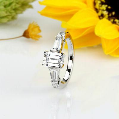 7mm Plated 1ct Engagement