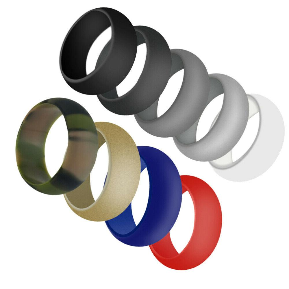 9 pcs Sports Silicone Simple Ring Cleaning