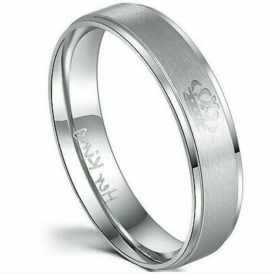 Couple's or King Stainless Steel
