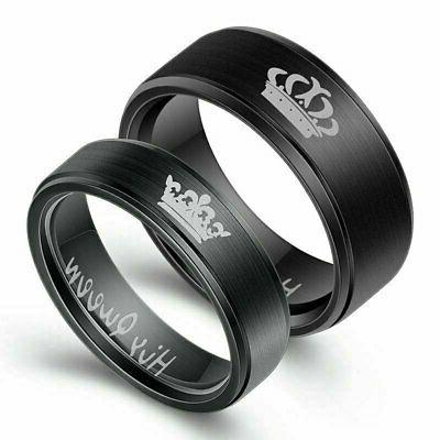 or Stainless Wedding Band