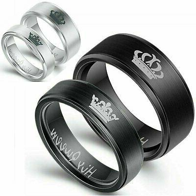 couple s matching ring his or her