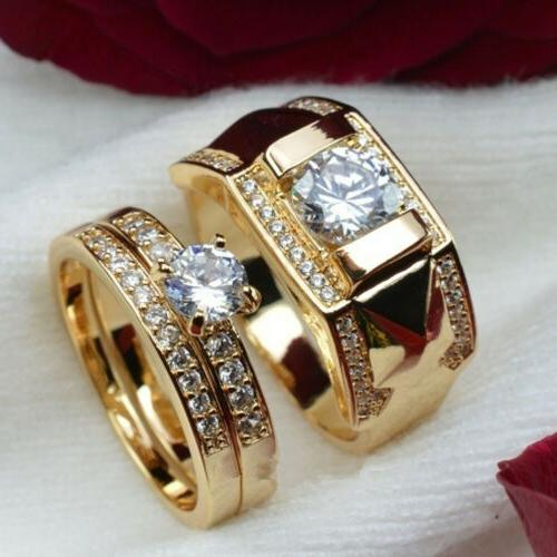 Fashion Zircon Rings Stainless Crystal Engagement Ring