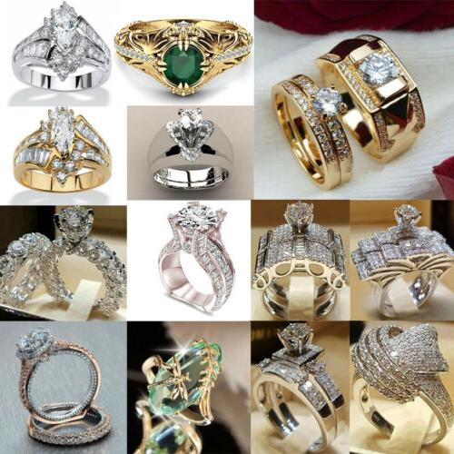 Fashion Women's Rings Stainless Steel Engagement