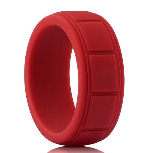 Medical Grade Silicone Ring Fit Sport Rubber 8-13#
