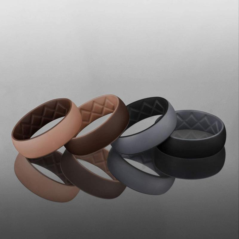 Men Rubber Ring Engagement Workout size