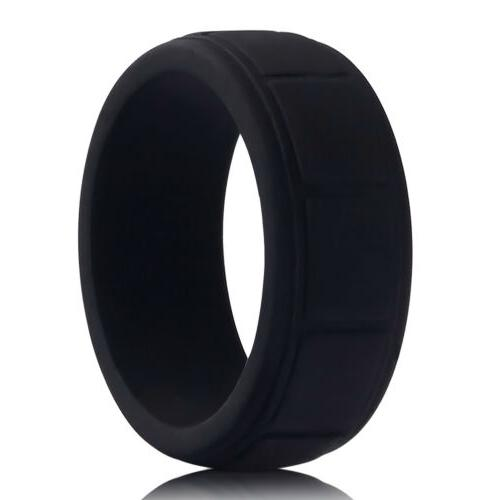 Medical Ring Sport Rubber Size 8-13#