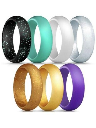 silicone rings 7 pack size 4 5