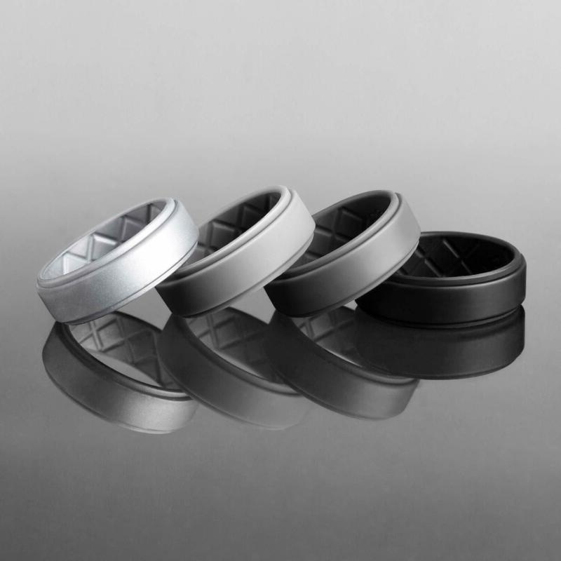 Egnaro Silicone For Men, Rubber Bands,