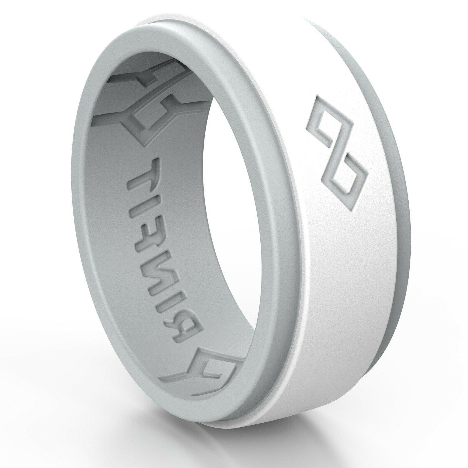 Silicone Wedding for Men by Men's bands.