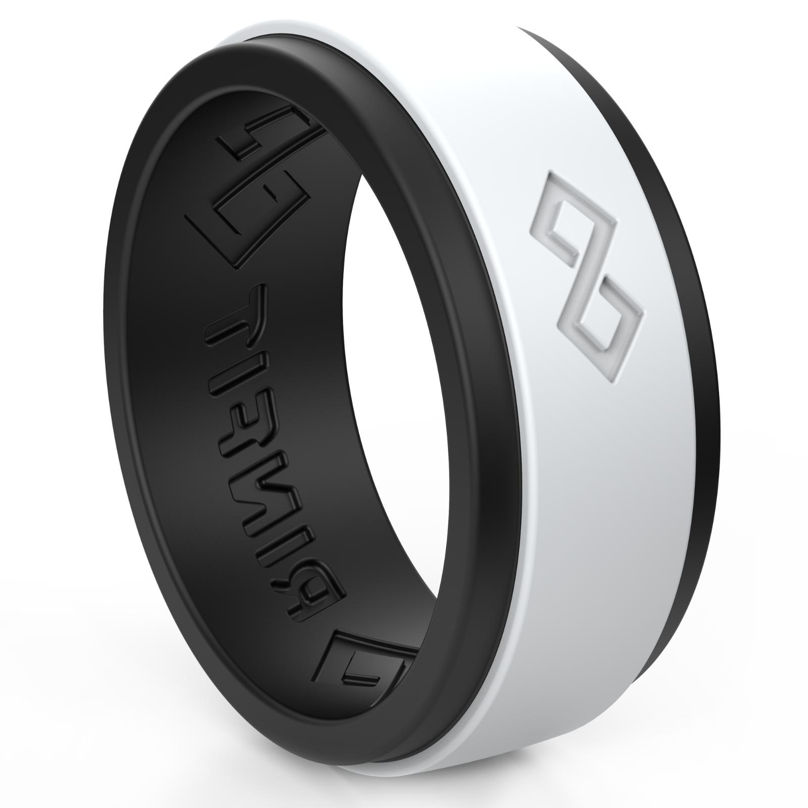 silicone wedding ring for men by breathable