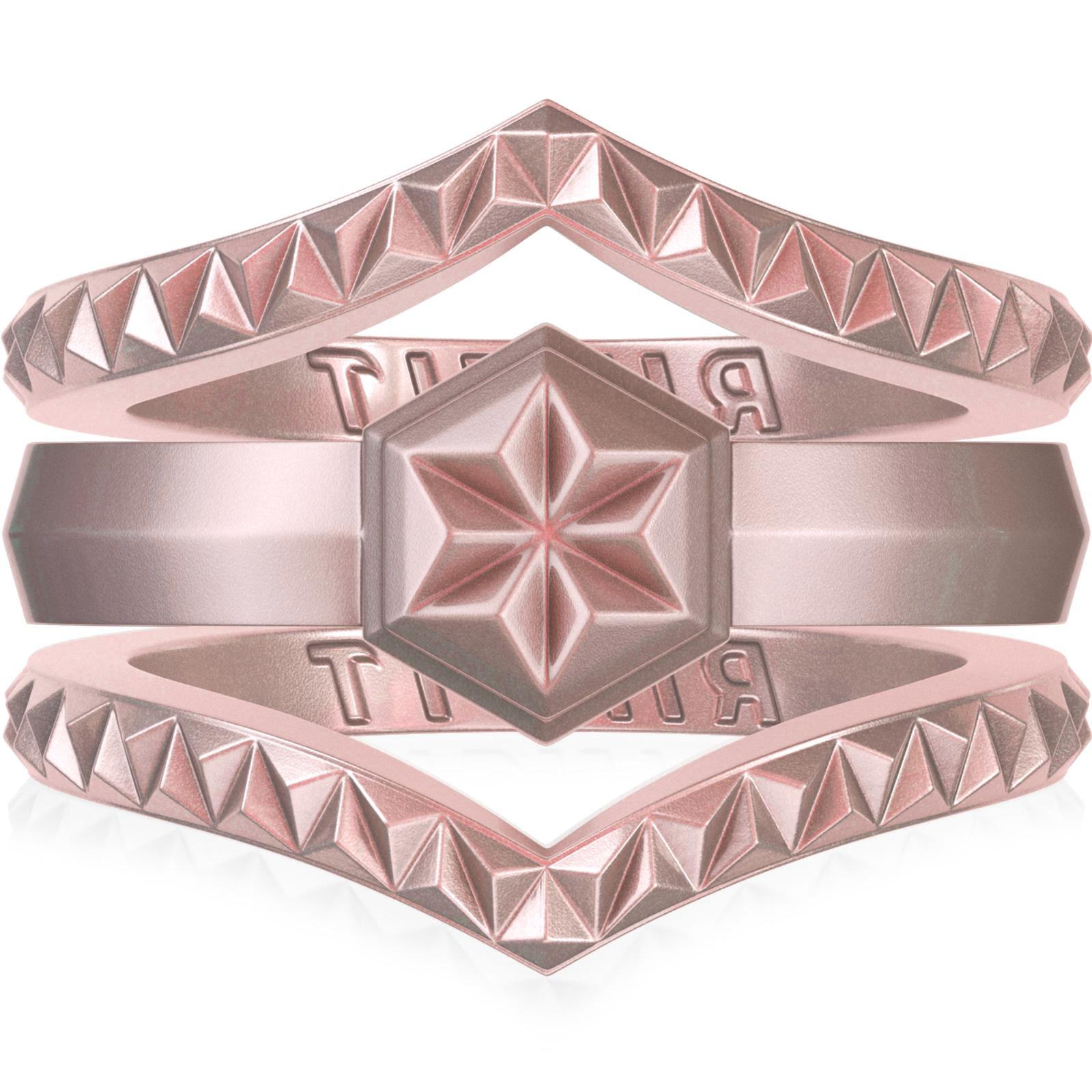 silicone wedding rings for women by thin
