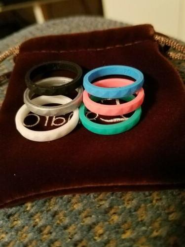 Egnaro Silicone Women Rings 6 Pack 04