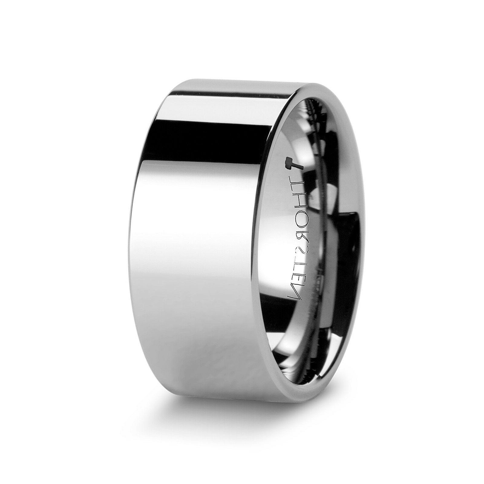 THORSTEN - Tungsten Carbide Comfort Wedding Ring
