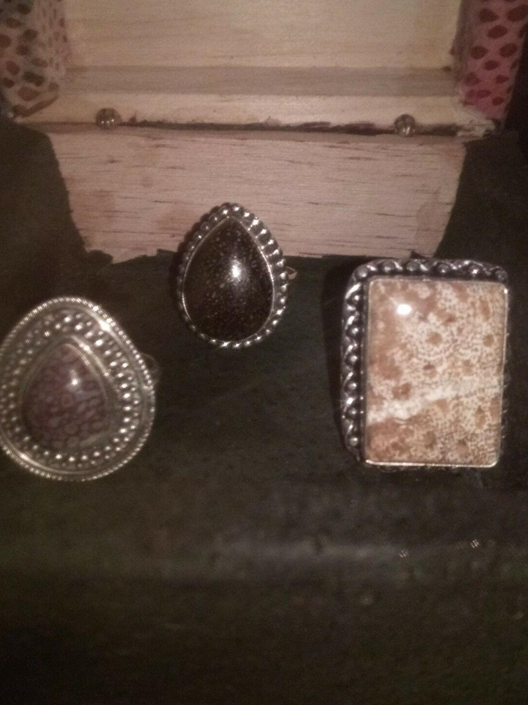 USA Made Pure Silver Rings. Southwest