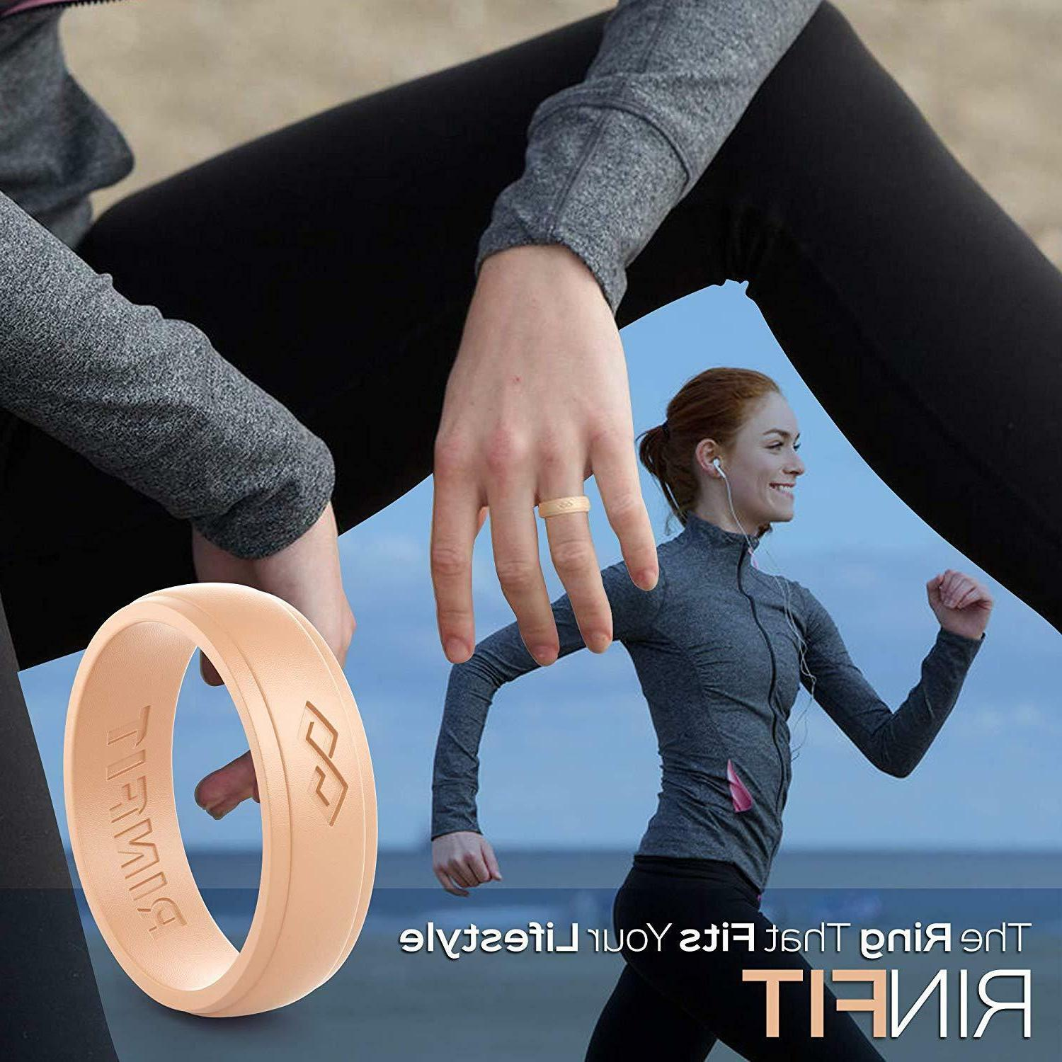 Silicone bands set for and - 2 Infinity Collection
