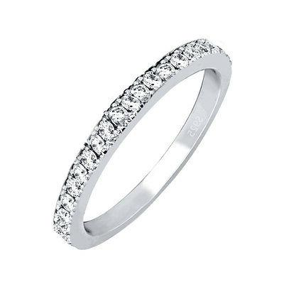 women s solid sterling silver anniversary wedding