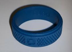 QALO Mens Silicone Functional Wedding Ring~Black~Size 13 New