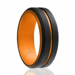 ROQ Silicone Ring - Single Rings - Mens Silicone Wedding Ban