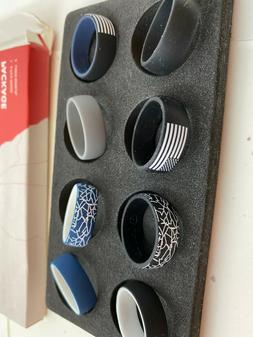 Silicone Rings Wedding Bands for Women/Men, Americana Rings|