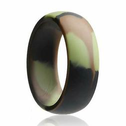 ROQ Silicone Wedding Ring for Men Affordable Silicone Rubber