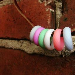 silicone wedding rings for women rubber wedding