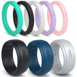Silicone Wedding Rings | Wedding Bands for Men and Women- 8