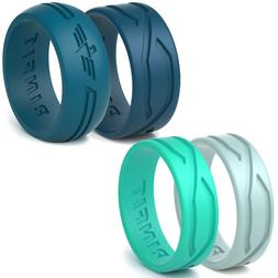 Silicone Wedding Rings | Wedding Bands for Men and Women- 4