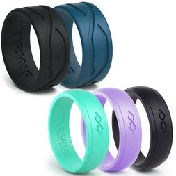 Silicone Wedding Rings | Wedding Bands for Men and Women- 5
