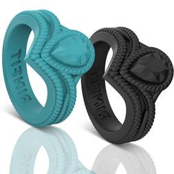 Unique Silicone Wedding Ring | Bands for Women Couture Colle