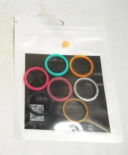 ThunderFit Womens Thin and Stackable Silicone Rings Wedding